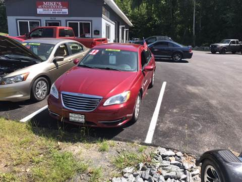 2012 Chrysler 200 for sale at Mikes Auto Center INC. in Poughkeepsie NY