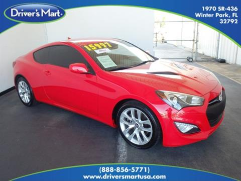 2014 Hyundai Genesis Coupe for sale in Winter Park, FL