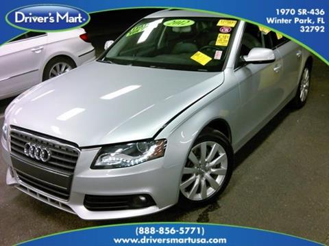 2012 Audi A4 for sale in Winter Park, FL