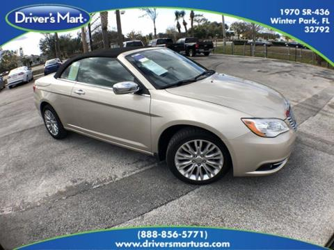 Chrysler 200 Convertible For Sale Carsforsale Com