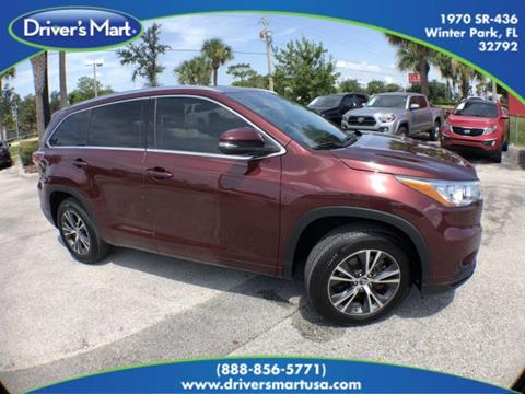 2016 Toyota Highlander for sale in Winter Park, FL