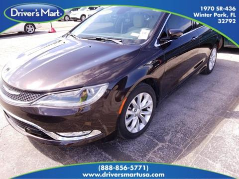 2015 Chrysler 200 for sale in Winter Park, FL