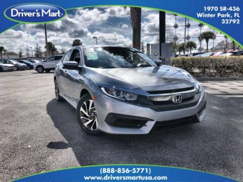 2017 Honda Civic EX for sale at Drivers Mart in Winter Park FL