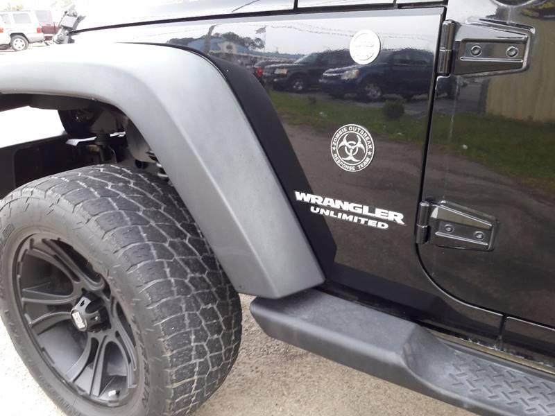 2010 Jeep Wrangler Unlimited 4x4 Sport 4dr SUV - Diberville MS