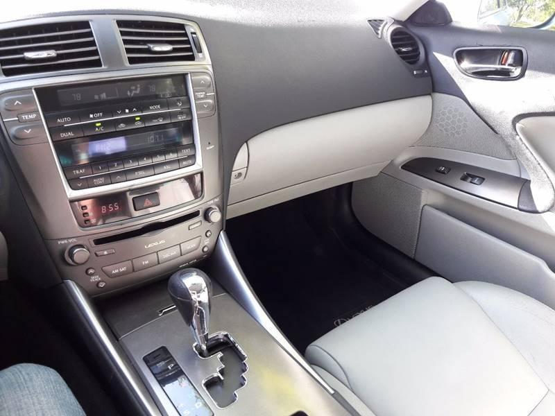 2008 Lexus IS 250 4dr Sedan 6A - Diberville MS