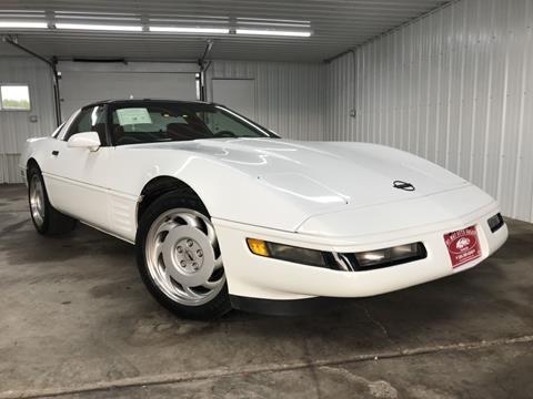 1991 Chevrolet Corvette for sale in Pease, MN