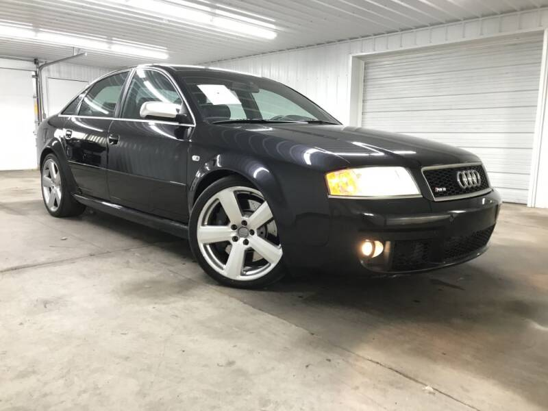 2003 Audi RS 6 for sale at Hi-Way Auto Sales in Pease MN