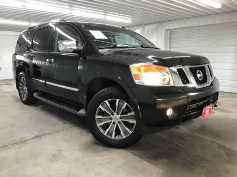 2015 Nissan Armada for sale at Hi-Way Auto Sales in Pease MN