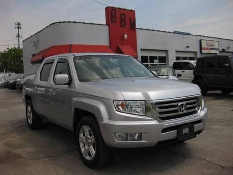 2012 Honda Ridgeline for sale at Best Buy Wheels in Virginia Beach VA