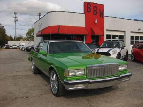 1987 Chevrolet Caprice for sale at Best Buy Wheels in Virginia Beach VA