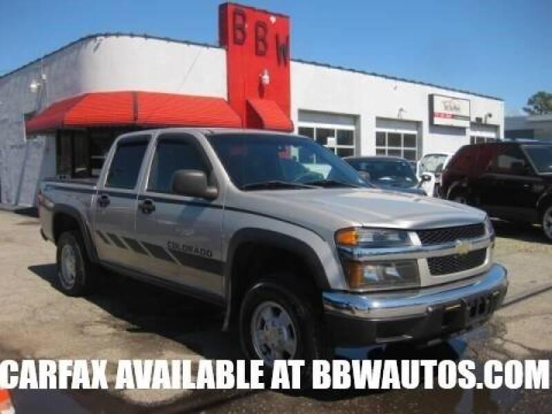 2006 Chevrolet Colorado for sale at Best Buy Wheels in Virginia Beach VA