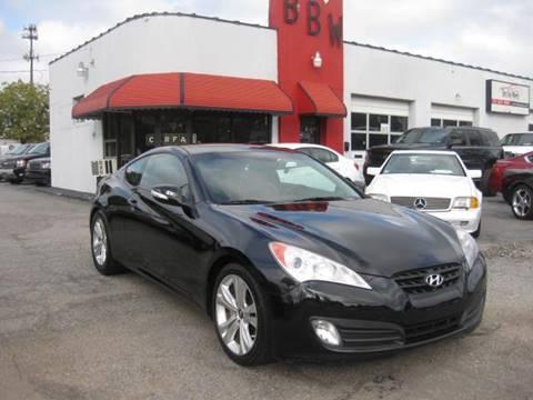 2011 Hyundai Genesis Coupe for sale at Best Buy Wheels in Virginia Beach VA