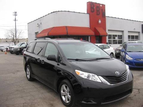 2015 Toyota Sienna for sale at Best Buy Wheels in Virginia Beach VA