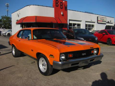 1973 Chevrolet Nova for sale at Best Buy Wheels in Virginia Beach VA