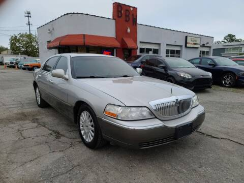 2003 Lincoln Town Car for sale at Best Buy Wheels in Virginia Beach VA