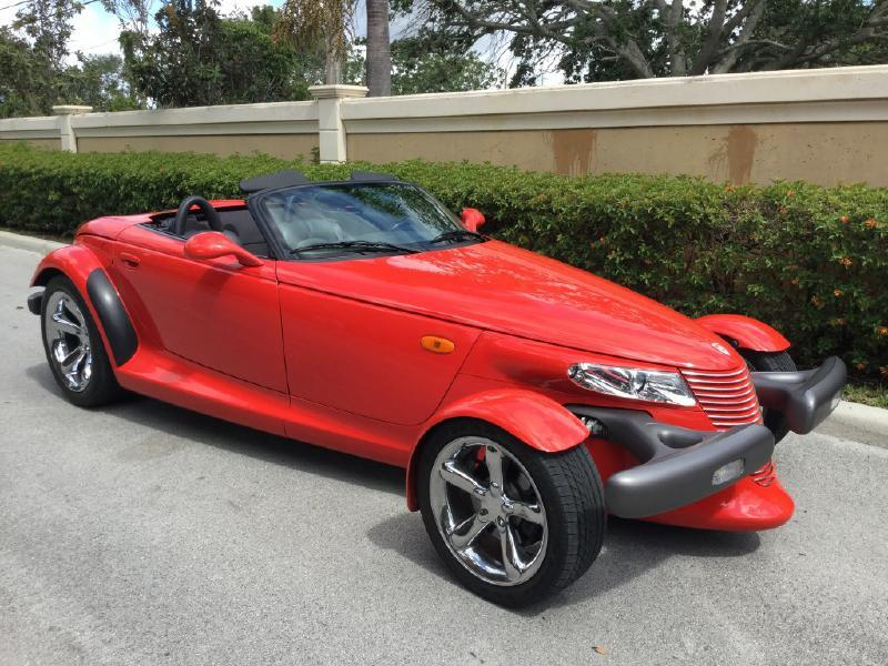 1999 Plymouth Prowler 2dr Convertible - Hollywood FL
