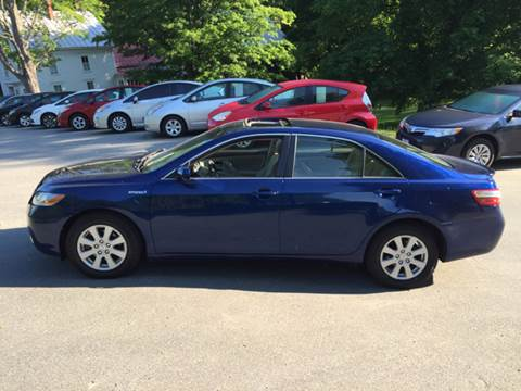 2007 Toyota Camry Hybrid for sale at MICHAEL MOTORS in Farmington ME