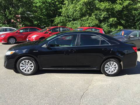 2014 Toyota Camry Hybrid for sale at MICHAEL MOTORS in Farmington ME