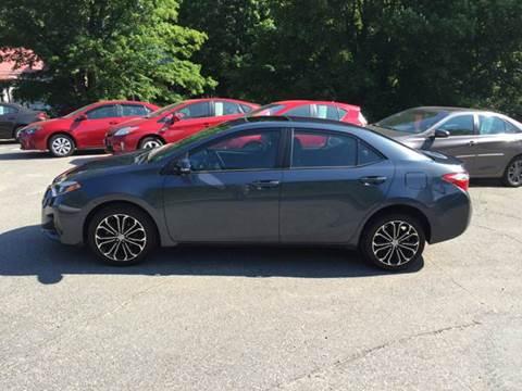 2015 Toyota Corolla for sale at MICHAEL MOTORS in Farmington ME