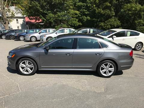 2015 Volkswagen Passat for sale in Farmington, ME
