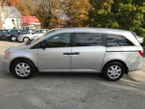 2012 Honda Odyssey for sale at MICHAEL MOTORS in Farmington ME