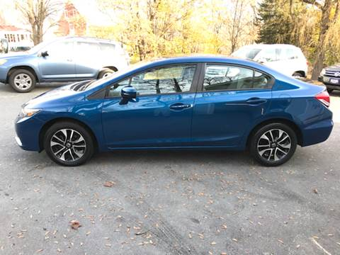 2014 Honda Civic for sale at MICHAEL MOTORS in Farmington ME