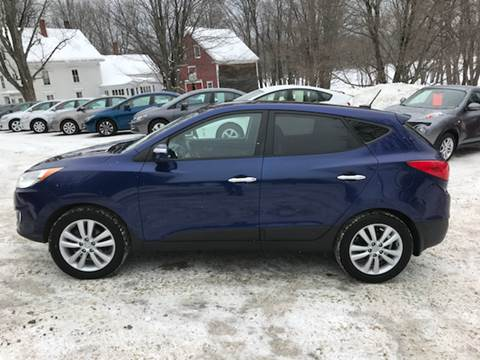 2010 Hyundai Tucson for sale at MICHAEL MOTORS in Farmington ME