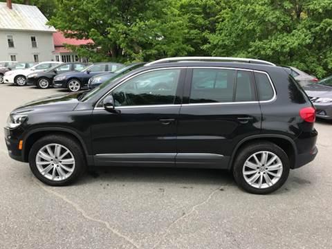 2015 Volkswagen Tiguan for sale at MICHAEL MOTORS in Farmington ME