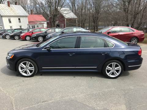 2014 Volkswagen Passat for sale at MICHAEL MOTORS in Farmington ME