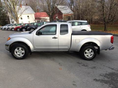 2005 Nissan Frontier for sale at MICHAEL MOTORS in Farmington ME