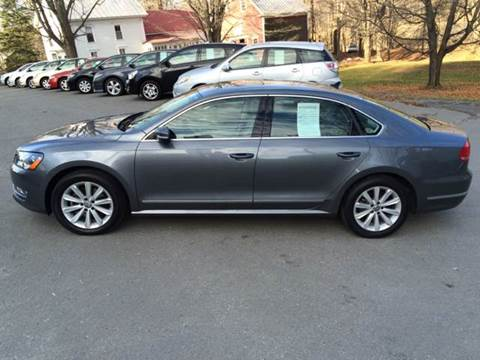 2013 Volkswagen Passat for sale at MICHAEL MOTORS in Farmington ME