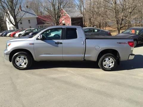 2010 Toyota Tundra for sale at MICHAEL MOTORS in Farmington ME