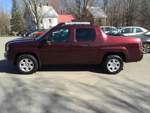 2007 Honda Ridgeline for sale at MICHAEL MOTORS in Farmington ME