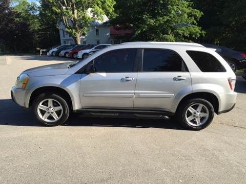 2005 Chevrolet Equinox for sale at MICHAEL MOTORS in Farmington ME