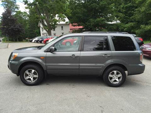 2008 Honda Pilot for sale at MICHAEL MOTORS in Farmington ME