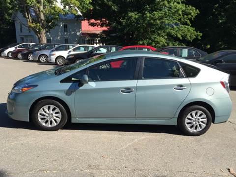 2012 Toyota Prius Plug-in Hybrid for sale at MICHAEL MOTORS in Farmington ME