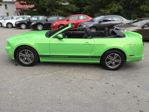 2013 Ford Mustang for sale at MICHAEL MOTORS in Farmington ME