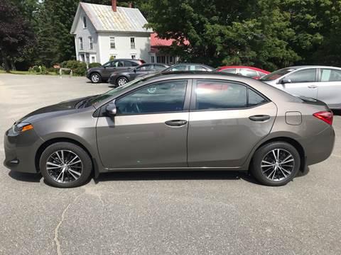 2019 Toyota Corolla for sale in Farmington, ME