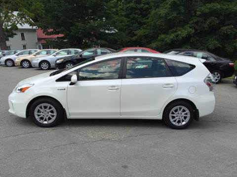 2014 Toyota Prius v for sale at MICHAEL MOTORS in Farmington ME
