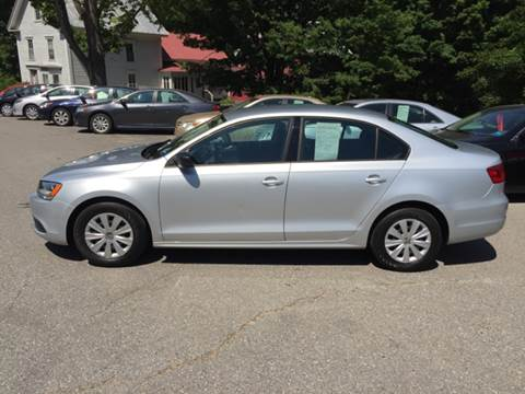2012 Volkswagen Jetta for sale at MICHAEL MOTORS in Farmington ME