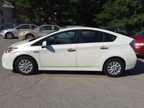 2013 Toyota Prius Plug-in Hybrid for sale at MICHAEL MOTORS in Farmington ME
