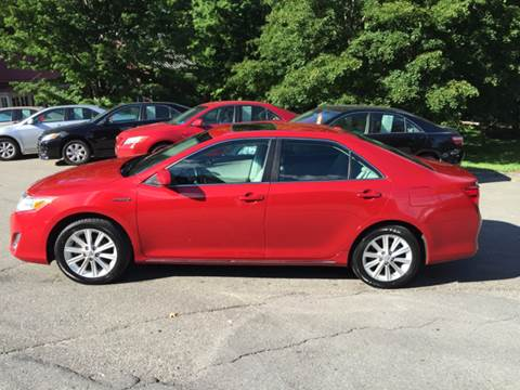 2012 Toyota Camry Hybrid for sale at MICHAEL MOTORS in Farmington ME