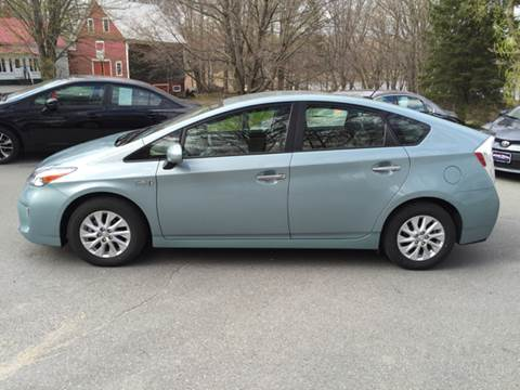 2015 Toyota Prius Plug-in Hybrid for sale at MICHAEL MOTORS in Farmington ME