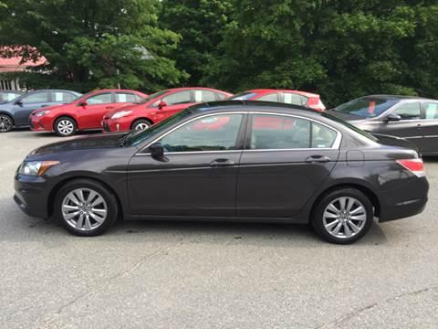 2012 Honda Accord for sale at MICHAEL MOTORS in Farmington ME