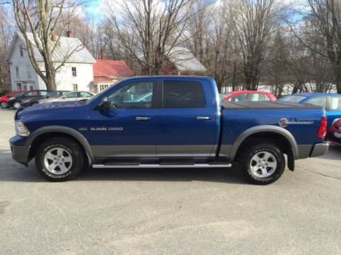 2011 RAM Ram Pickup 1500 for sale at MICHAEL MOTORS in Farmington ME
