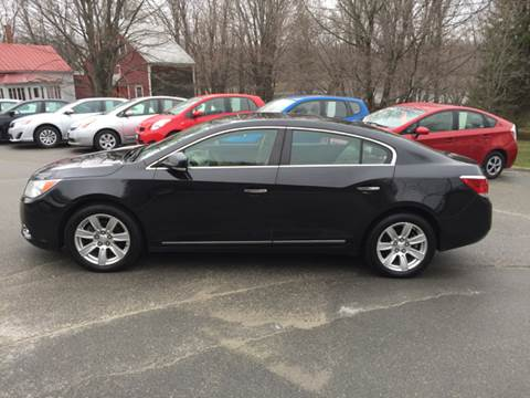 2012 Buick LaCrosse for sale at MICHAEL MOTORS in Farmington ME