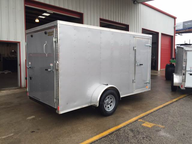 2016 Continental Cargo 6 X 12 SINGLE AXLE ENCLOSED  for sale in Spring, TX