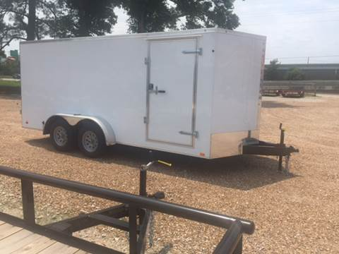 2016 Continental Cargo 7 X 16 TANDEM AXLE ENCLOSED