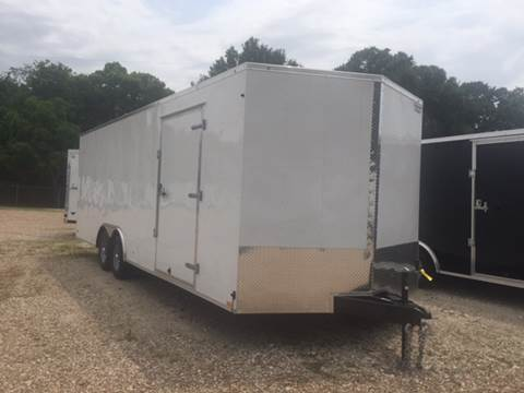 2016 Continental Cargo 8.5 X 24 TANDEM AXLE ENCLOSED