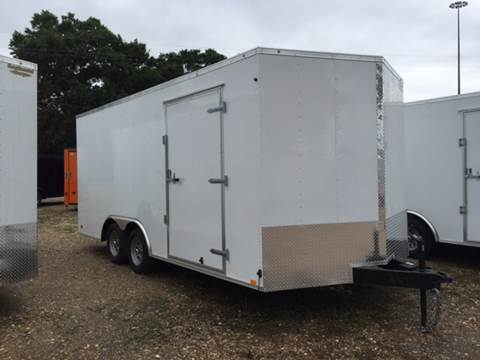 2016 Continental Cargo 8.5 X 18 TANDEM AXLE ENCLOSED